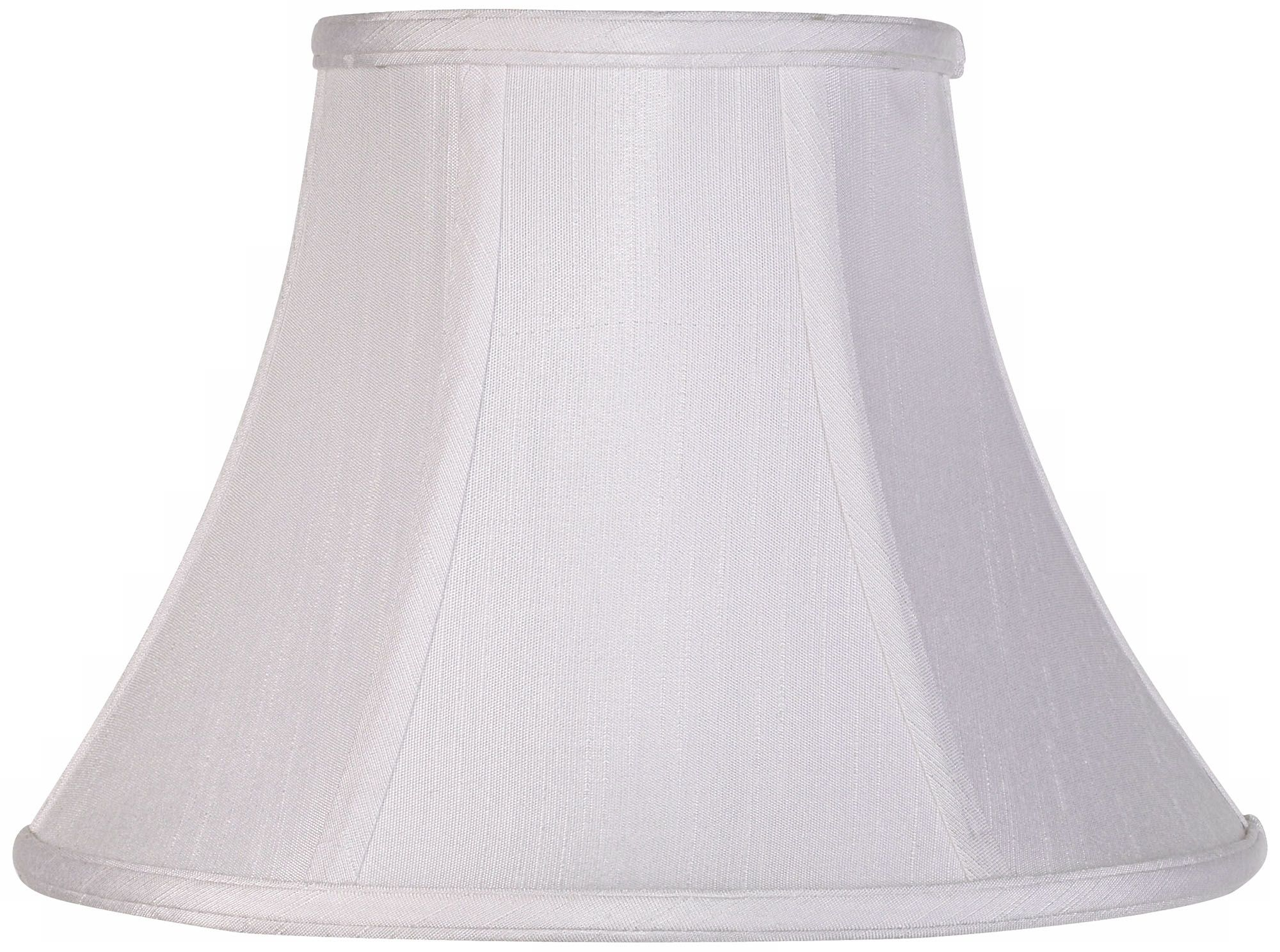 Imperial Collection White Bell Lamp Shade 6x12x9 (Spider)