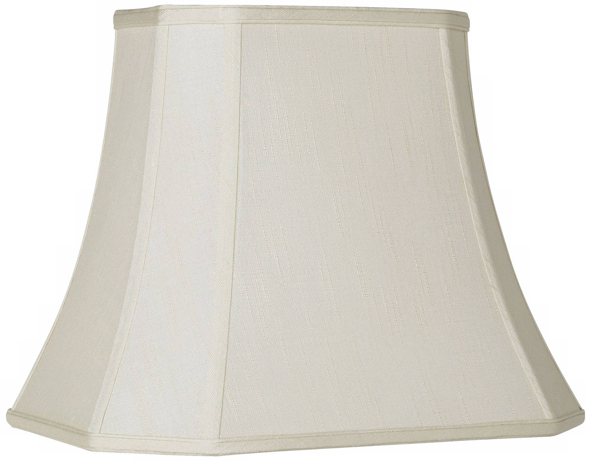 Imperial creme rectangle cut corner shade 10x16x13 spider