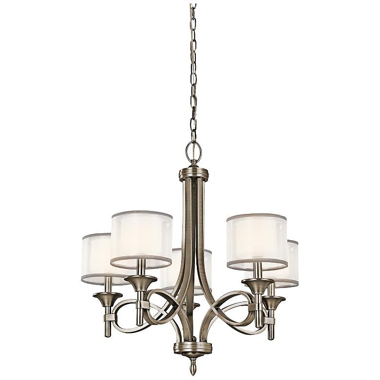 Kichler Lacey Antique Pewter Collection 5-Light Chandelier