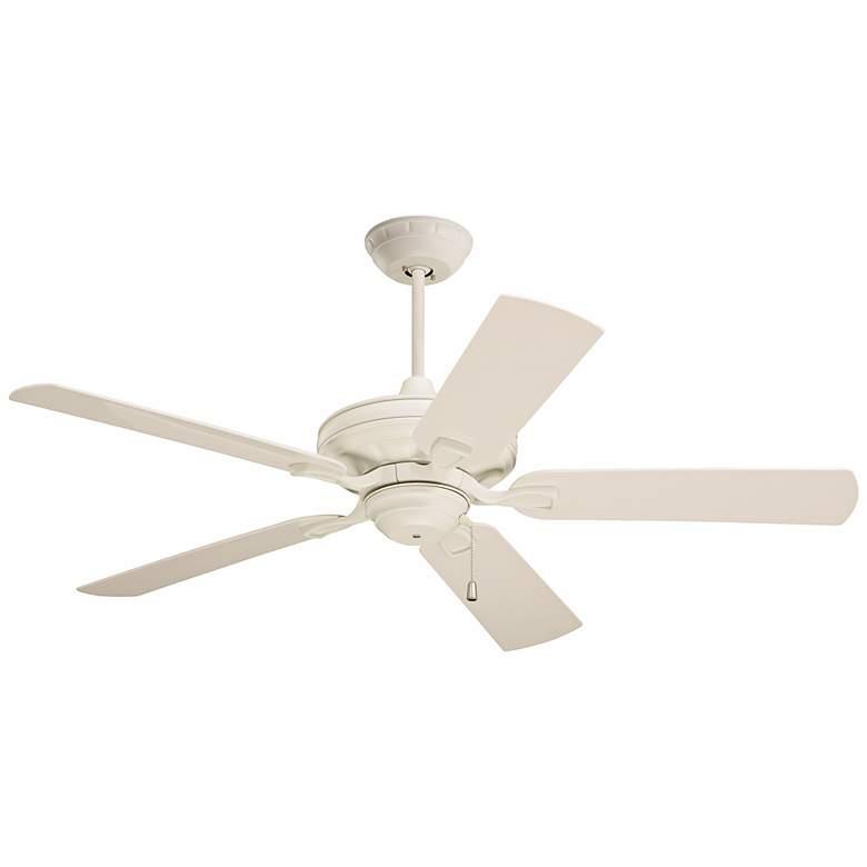 """52"""" Emerson Carrera Veranda Summer White Ceiling Fan"""