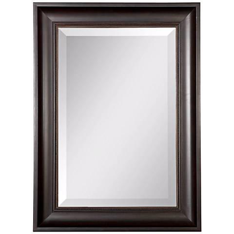"Uttermost Axton 37 1/2"" High Rectangular Wall Mirror"