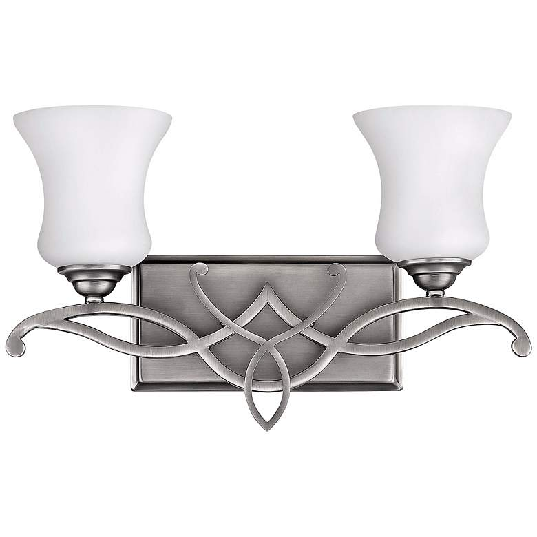 "Brooke Collection 16 1/2"" Wide 2-Light Bathroom Wall Light"