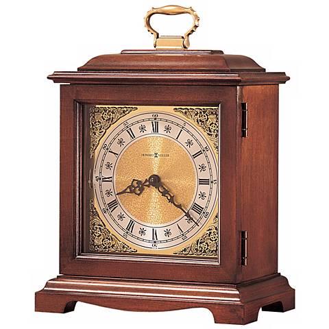 "Howard Miller Graham Bracket III 14 1/4"" High Tabletop Clock"