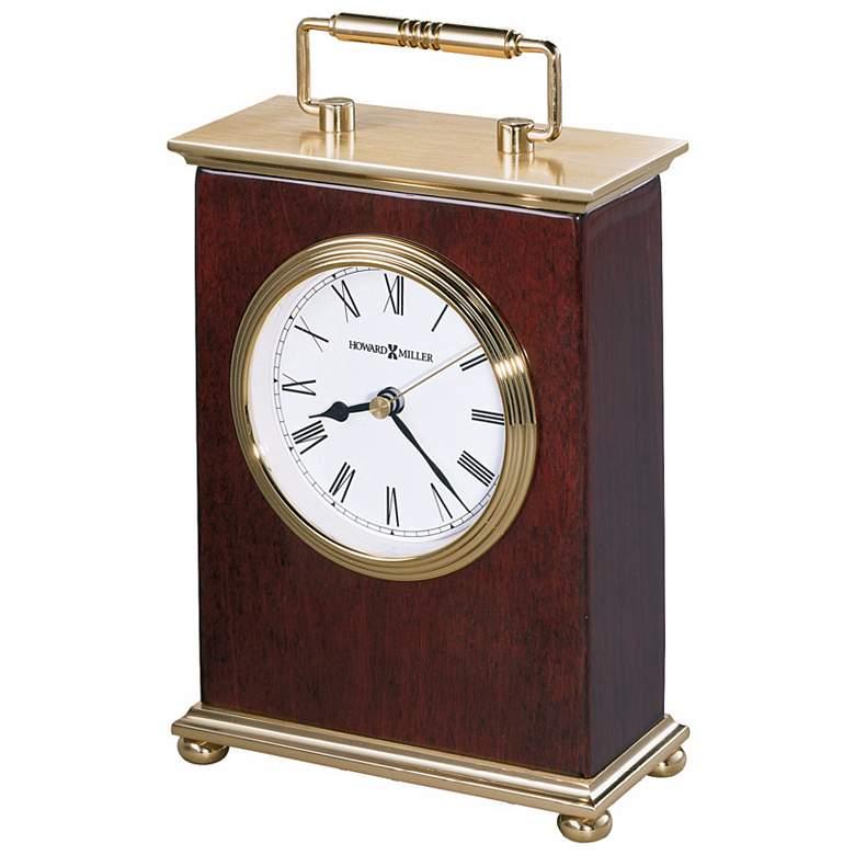 "Howard Miller Rosewood Bracket  8 1/4"" High Tabletop Clock"