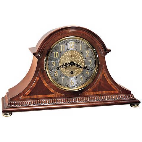"""Howard Miller Webster 18"""" Wide Mantel Clock"""