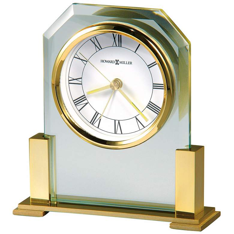 "Howard Miller Paramount 5 3/4"" High Tabletop Alarm Clock"