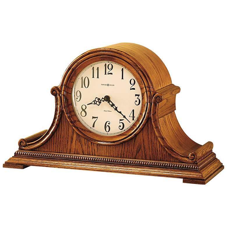 "Howard Miller Hillsborough 19"" Wide Chiming Mantel Clock"
