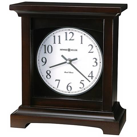 "Howard Miller Urban Mantel 10"" High Tabletop Clock"