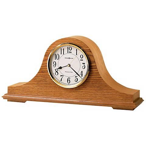 """Howard Miller Nicholas 17 3/4"""" Wide Tabletop Clock"""