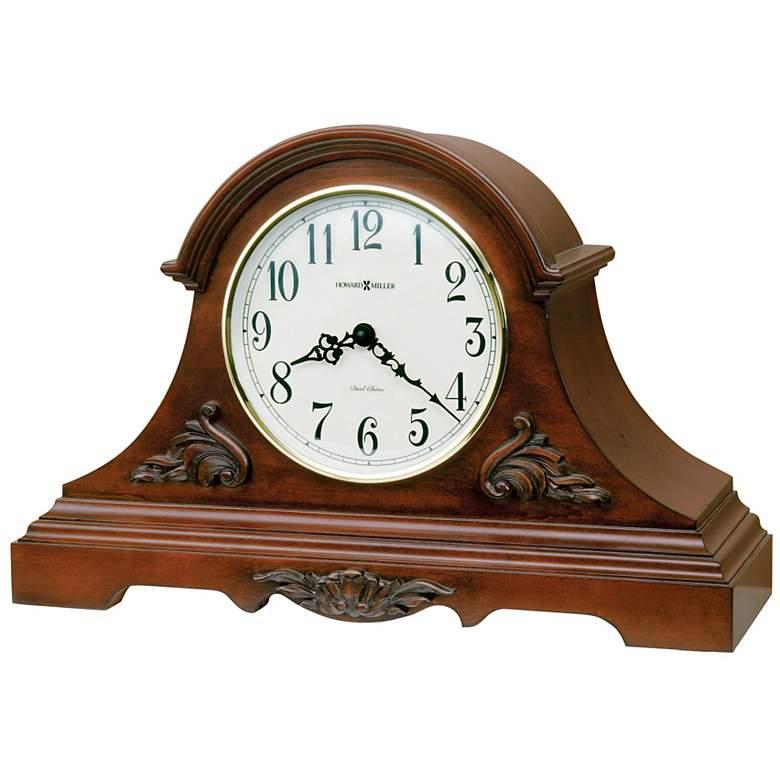 "Howard Miller Sheldon 18"" Wide Tabletop Clock"