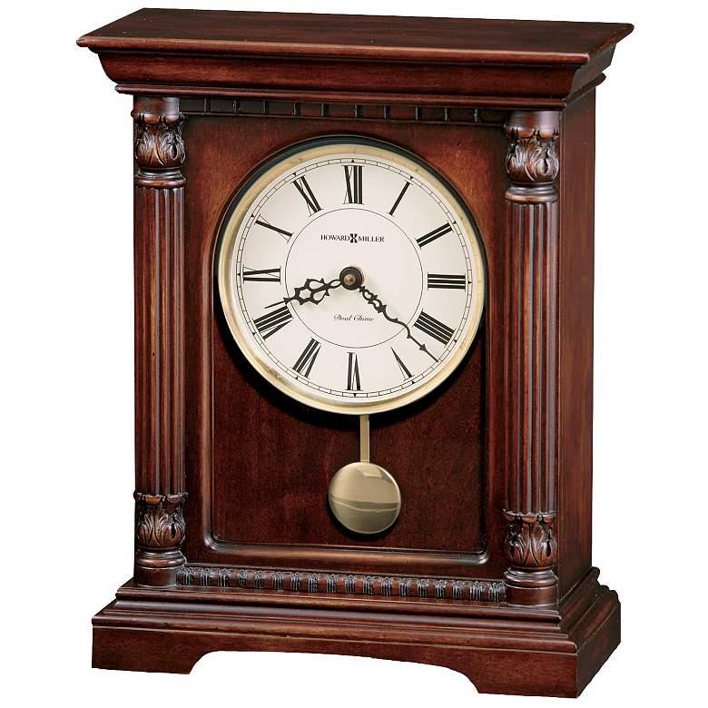 "Howard Miller Langeland 13 1/2"" High Tabletop Clock"