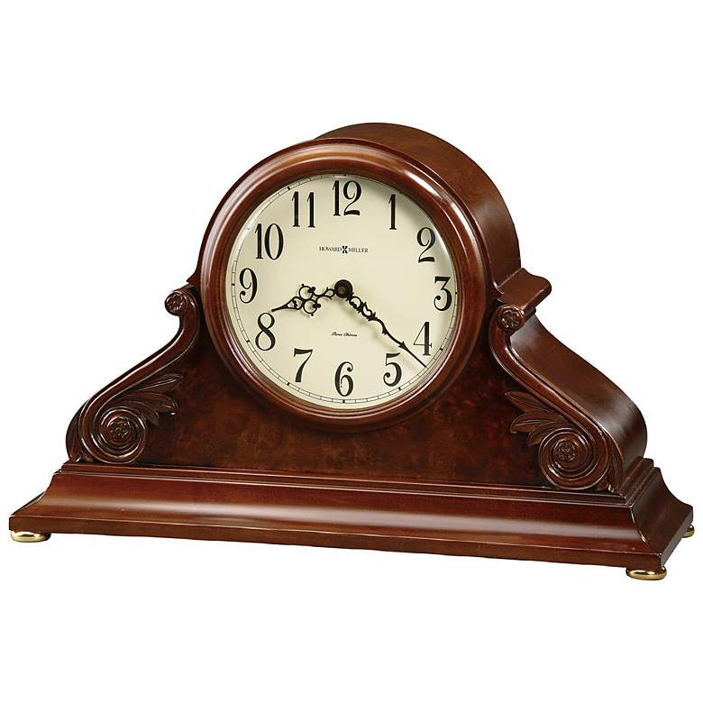 "Sophie 20 1/2"" Wide Musical Chimes Mantel Clock"