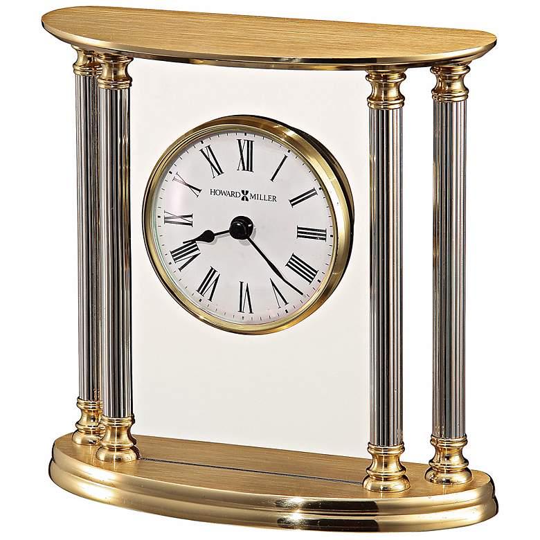 "Howard Miller New Orleans 5 1/2"" High Table Clock"