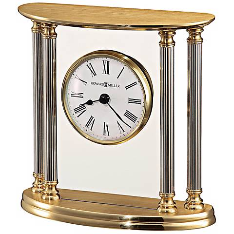 "Howard Miller New Orleans 5 1/2"" High Table Clock"