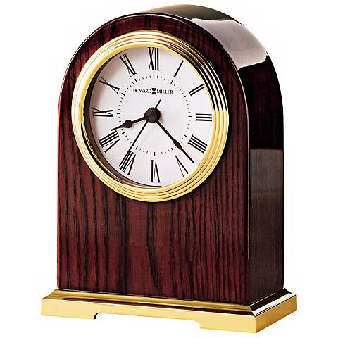 "Howard Miller Carter 6 1/2"" High Desk Clock"