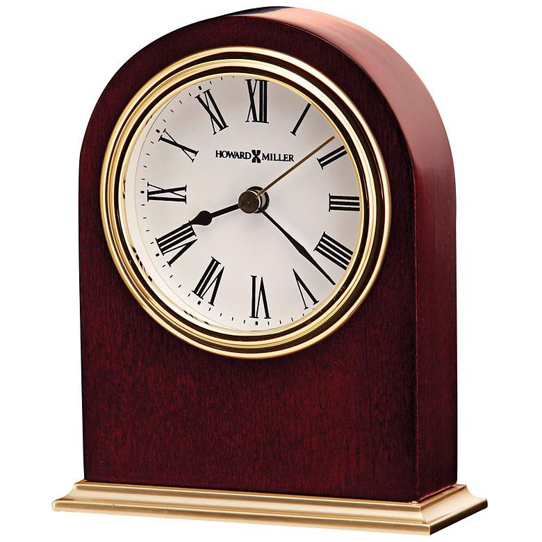 "Howard Miller Craven 4 3/4"" High Tabletop Clock"