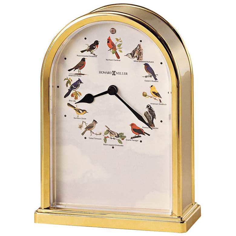 """Howard Miller 7 1/2"""" High Songbirds Chiming Table"""