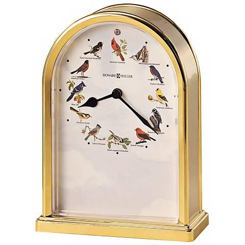 Howard Miller Songbirds of North America III Tabletop Clock