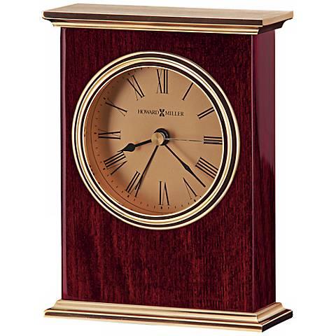 "Howard Miller Laurel 5 1/2"" High Alarm Clock"