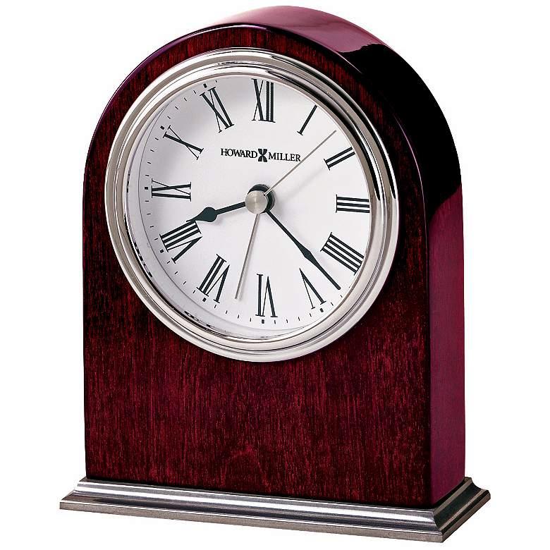 "Howard Miller Walker 5 1/2"" High Table Alarm Clock"
