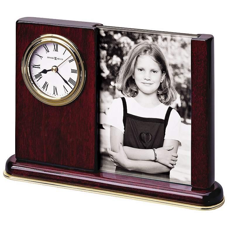 "Howard Miller Portrait Caddy 8"" Wide Desktop Clock"