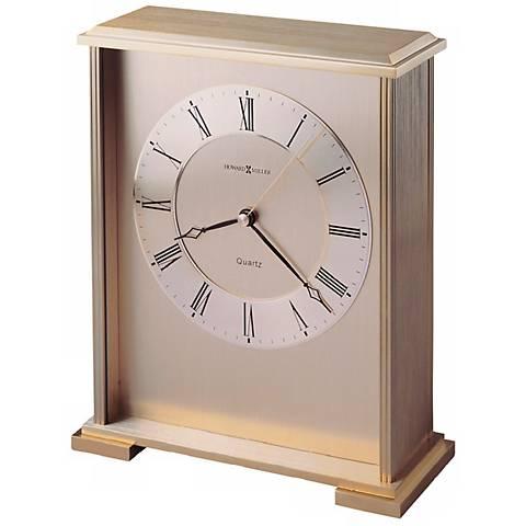"Howard Miller Exton 8 3/4"" High Table Clock"