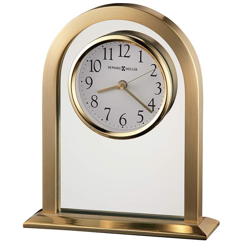 "Howard Miller Imperial 7 1/2"" High Table Clock"