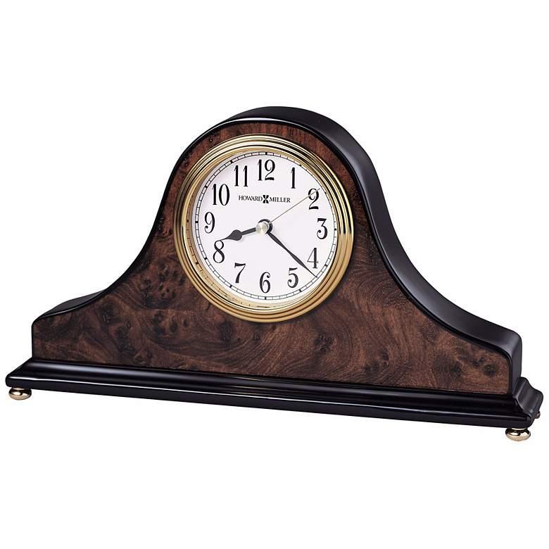 """Howard Miller Baxter 10 1/2"""" Wide Tabletop Clock"""