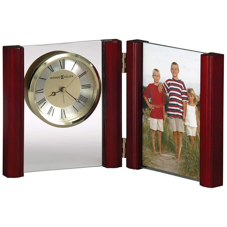 "Howard Miller Alex 6"" High Photo Frame Alarm Clock"