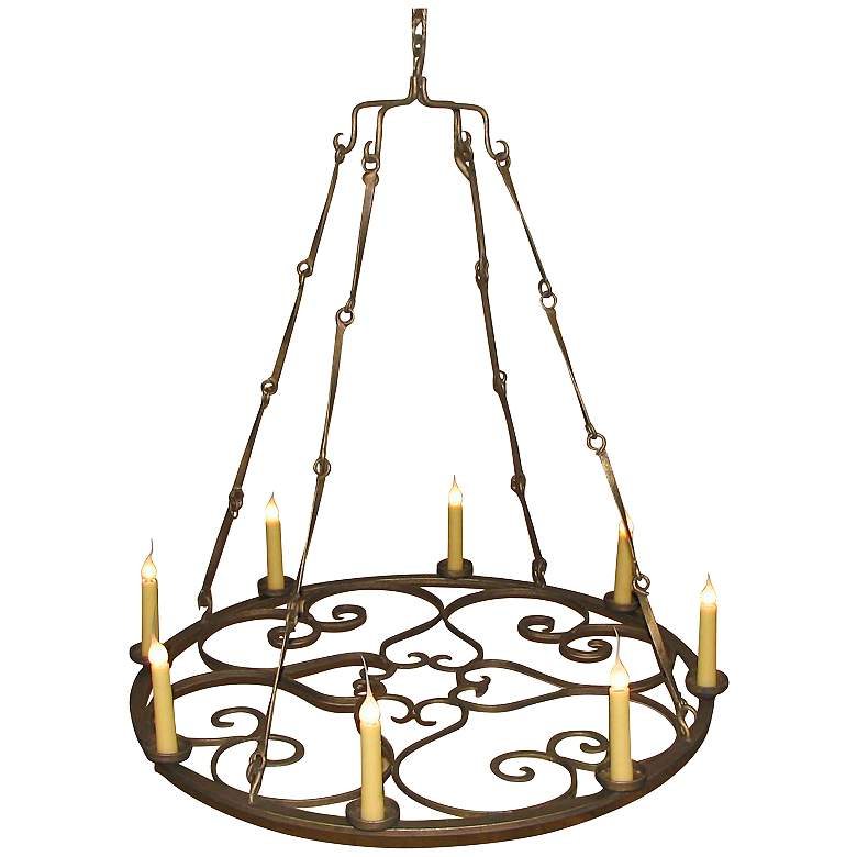 "Laura Lee Valentine 8-Light 41"" Wide Chandelier"