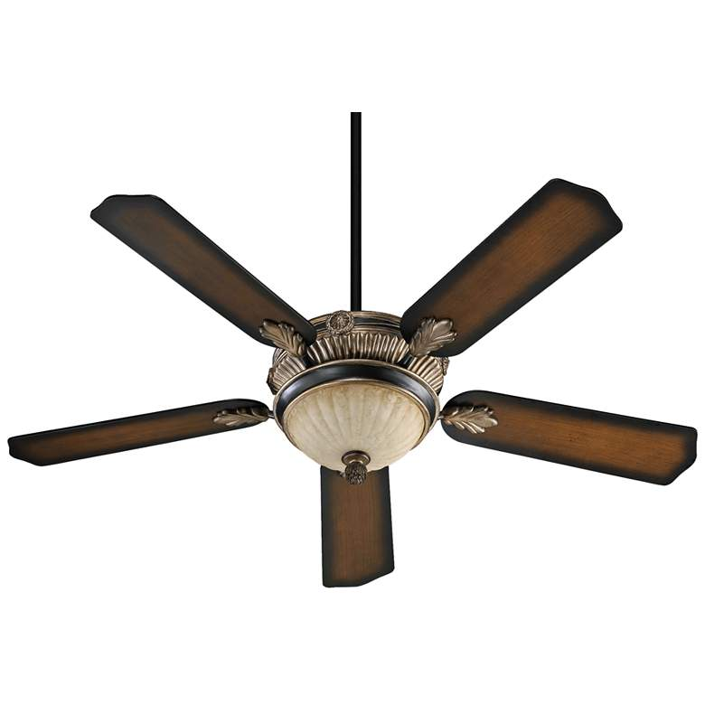 """52"""" Galloway Old World with Antique Flemish Ceiling Fan"""