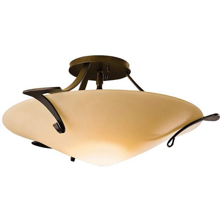 Hubbardton Forge Antasia Sand Semiflush Ceiling Light