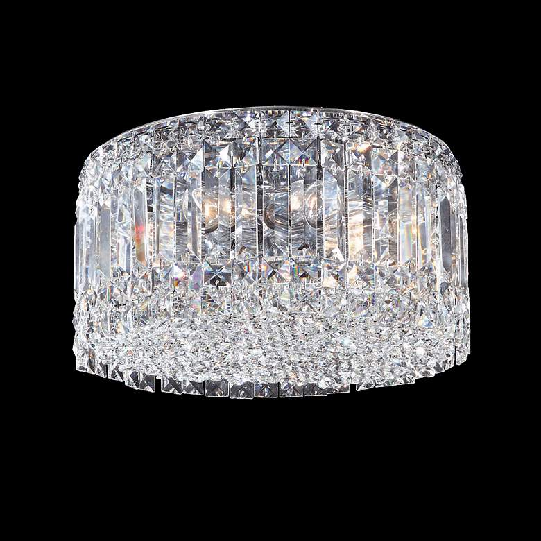 """James R. Moder 13"""" Wide Imperial Crystal Ceiling Fixture"""