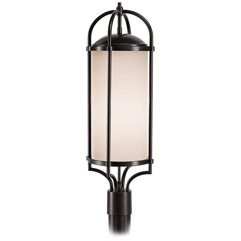 "Feiss Dakota Espresso 28 1/4"" High Outdoor Post Light"
