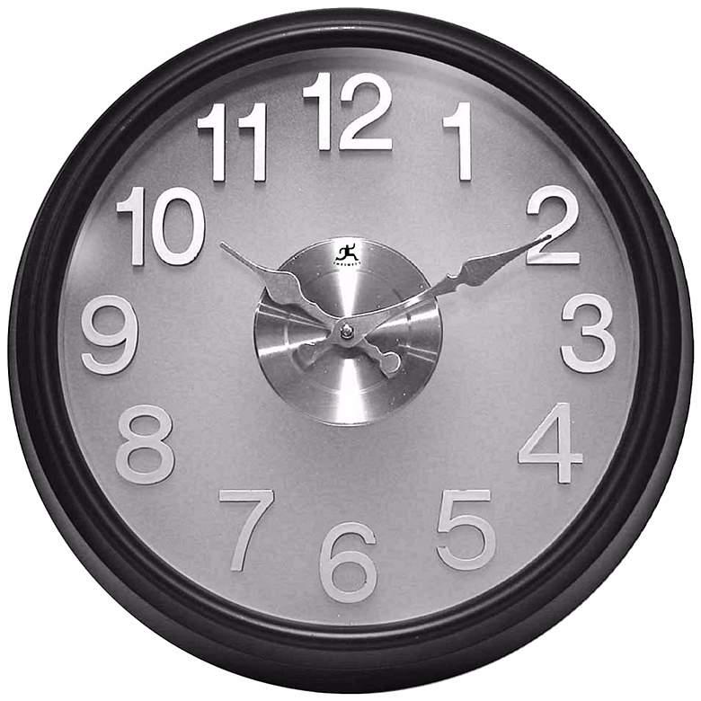 "Bogart 15"" Wide Round Wall Clock"
