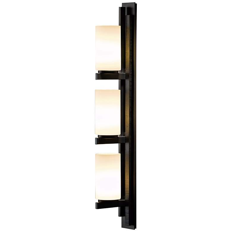 Hubbardton Forge Ondrian Vertical Left Bath Wall Sconce