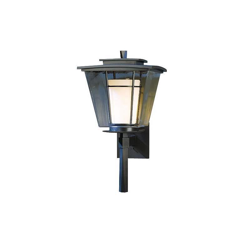 "Hubbardton Forge Beacon Hall 23 1/2"" High Outdoor Wall Light"