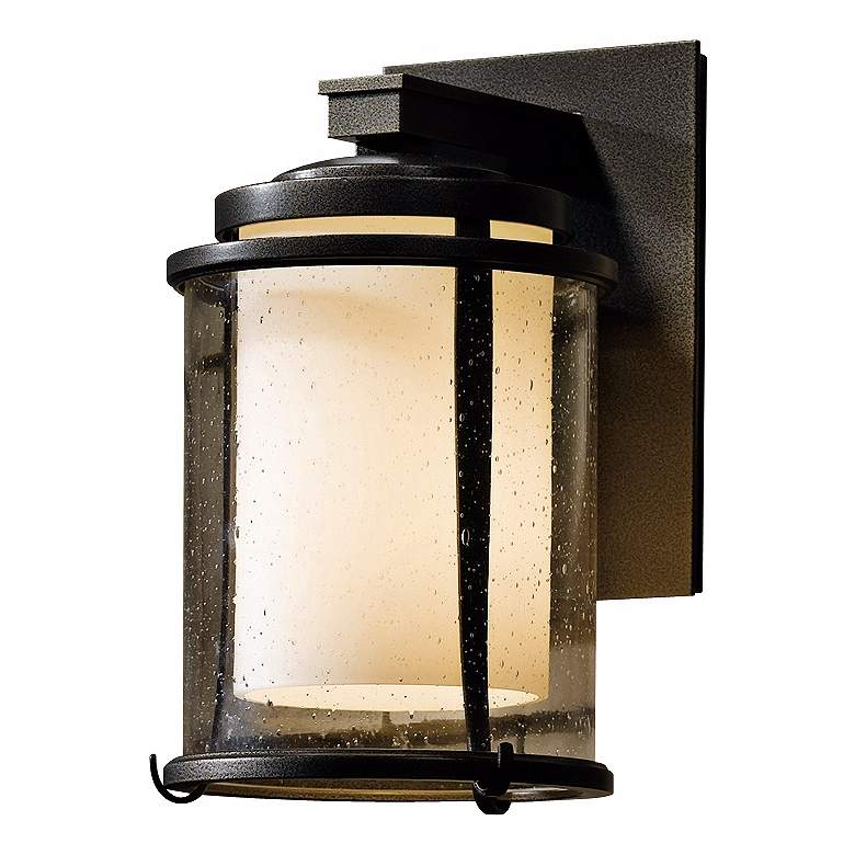 "Hubbardton Forge Meridian 10 1/4"" High Outdoor Wall Light"