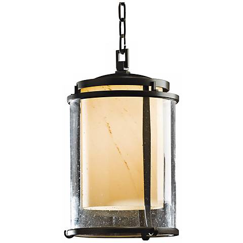 """Hubbardton Forge Meridian 15 3/4""""H Outdoor Hanging Light"""