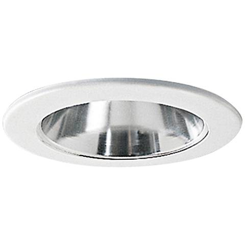 Nora 4 wide chrome and white adjustable recessed light trim nora 4 wide chrome and white adjustable recessed light trim aloadofball Images