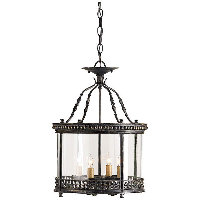 "Currey and Company Grayson 14"" Wide Ceiling Lantern"