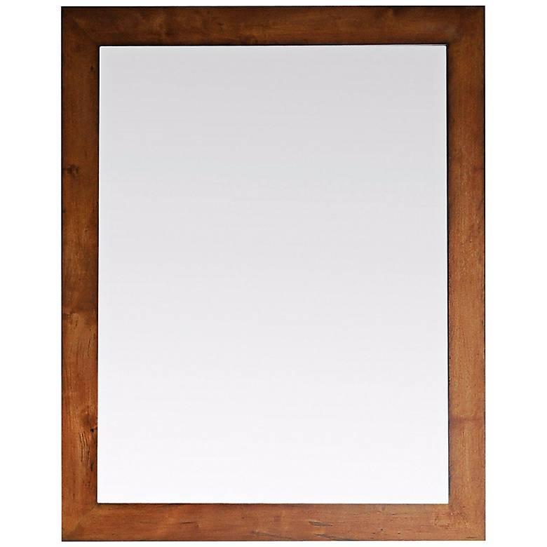 "Legacy Golden Burl 36"" High Wall Mirror"