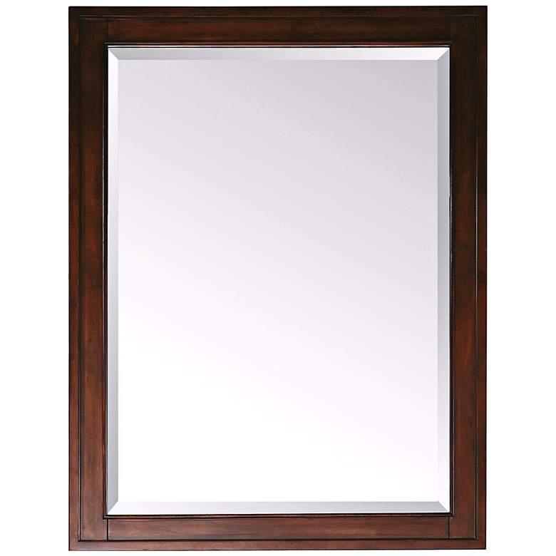 "Avanity Madison Tobacco 24"" x 32"" Rectangular Wall Mirror"