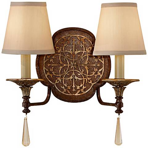 "Feiss Marcella 15 1/2"" Wide Wall Sconce"