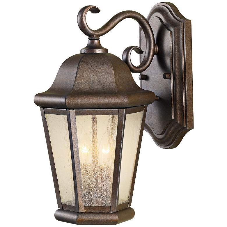 """Martinsville 14 1/2"""" High Outdoor Wall Lantern by Feiss"""