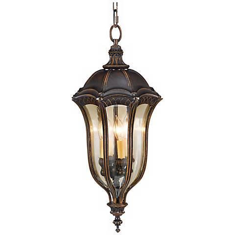 "Feiss Baton Rouge 27"" High Outdoor Hanging Lantern"