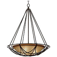 """Feiss El Nido Collection 24 1/4"""" Wide Pendant Light"""