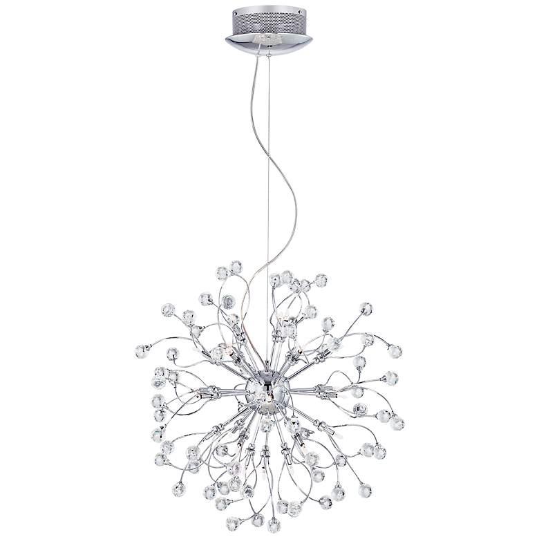 Possini Euro Crystal Fizz 24-Light Contemporary Pendant