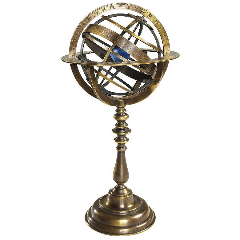 Bronze Historical Armillary Dial
