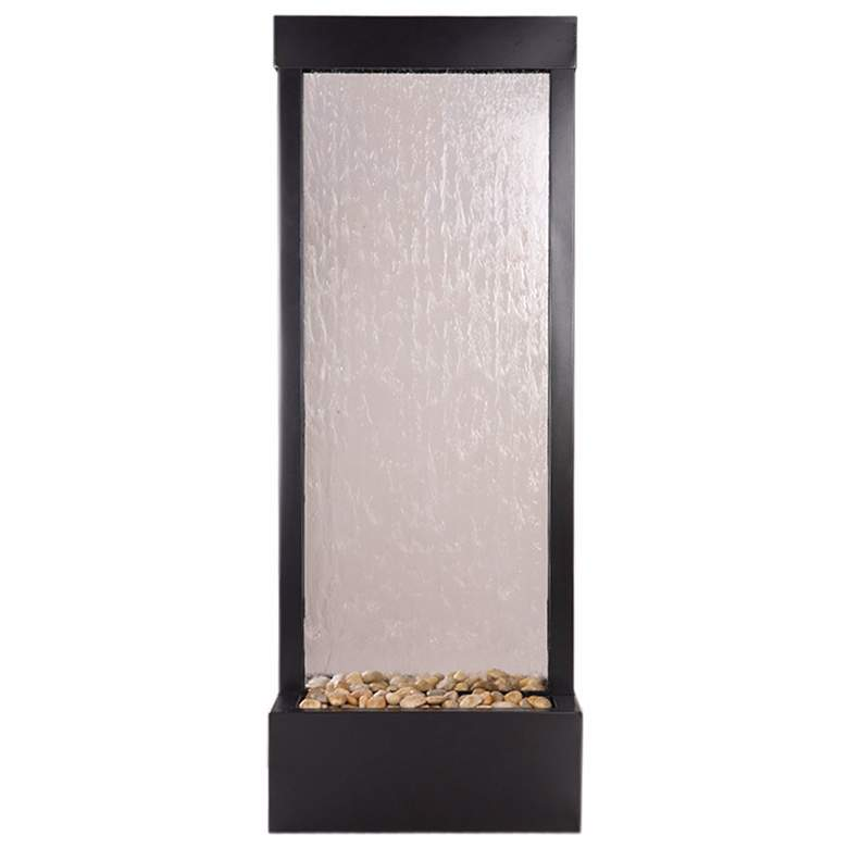"Gardenfall Glass-Black Onyx 48"" High Indoor/Outdoor Fountain"